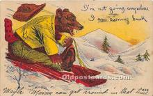 ber006050 - Bear Postcard