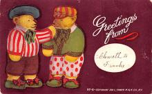 ber007081 - Bear Post Card Old Vintage Antique