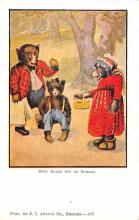 ber007115 - Bear Post Card Old Vintage Antique