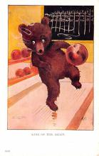 ber007145 - Bear Post Card Old Vintage Antique