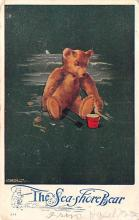 ber007167 - Bear Post Card Old Vintage Antique