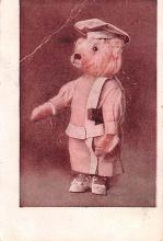 ber007185 - Bear Post Card Old Vintage Antique