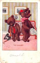 ber007187 - Bear Post Card Old Vintage Antique