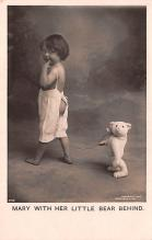 ber007193 - Bear Post Card Old Vintage Antique
