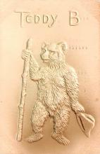 ber007203 - Bear Post Card Old Vintage Antique