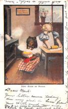 ber007263 - Bear Post Card Old Vintage Antique