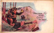 ber007313 - Bear Post Card Old Vintage Antique