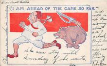 bev006112 - Bears Postcard Old Vintage Antique Post Card