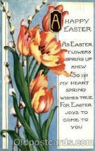 bir001008 - Happy Easter Birth Stone Postcard Post Card