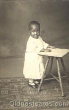 bla000010 - St. Louis, MO USA Black, Blacks, Real Photo Postcard Post Card