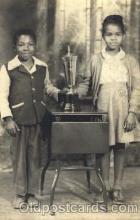 bla000015 - Black, Blacks, Real Photo Postcard Post Card