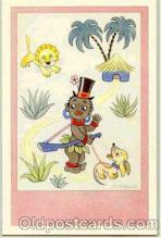 bla001002 - Black Blacks Postcard Post Card