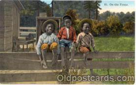 bla001020 - Black Blacks Postcard Post Card