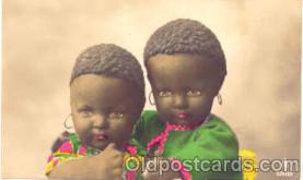 bla001025 - Black Blacks Postcard Post Card