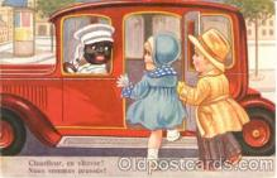 bla001029 - Black Blacks Postcard Post Card