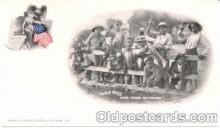bla001032 - Mule Race, Black Blacks Postcard Post Card