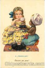 bla001038 - Black Blacks Postcard Post Card