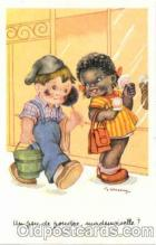 bla001046 - Black Blacks Postcard Post Card