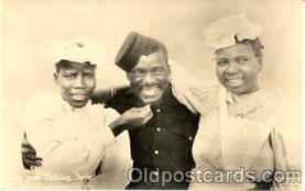 bla001102 - Black Blacks Postcard Post Card