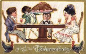 bla001105 - Thanksgiving Black Blacks Postcard Post Card
