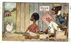 bla001110 - Black Blacks Postcard Post Card