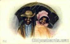 bla001111 - Black Blacks Postcard Post Card
