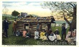 bla001125 - Thanksgiving Morning Black Blacks Postcard Post Card
