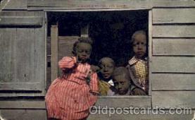 bla001143 - Black Blacks Postcard Post Card
