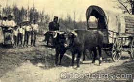 bla001188 - Way down in Old Missouri, USA Oregon Trail,  Black Blacks Postcard Post Card