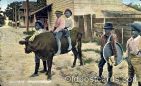 bla001190 - Southern Transportation Black Blacks Postcard Post Card