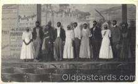 bla001211 - Minstels Black Blacks Postcard Post Card