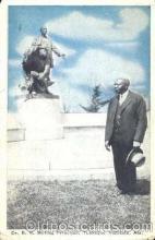 bla001243 - Dr. R.R. Moton, Tuskegee Institute, Alabama, USA Black Blacks Postcard Post Card