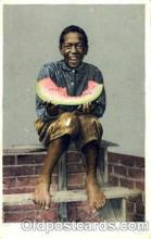 bla001273 - Watermellon Jake Black Blacks Postcard Post Card