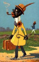 bla001290 - Artist Donadini Jr. Dresden, Black Blacks Postcard Post Card
