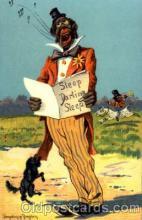 bla001291 - Artist Donadini Jr. Dresden, Black Blacks Postcard Post Card