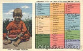 bla001318 - Southern Products Black, Blacks Postcard Post Card