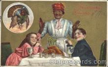 bla001344 - Thanksgiving greeting Black, Blacks Postcard Post Card