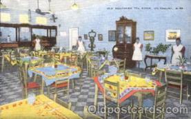 bla001355 - Tea Room, Vicksburg, Miss, USA Black, Blacks Postcard Post Card