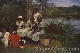 bla001363 - The united Lutheran Church Black, Blacks Postcard Post Card