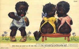 bla001375 - C.T. Art. Colortone, Chicago, USA Black, Blacks Postcard Post Card