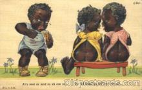 bla001403 - Series C-243 Black, Blacks Postcard Post Card