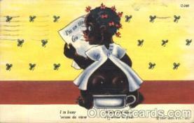 bla001406 - Series C-248 Black, Blacks Postcard Post Card