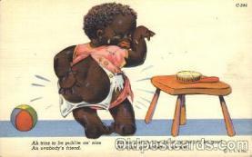 bla001407 - Series C-244 Black, Blacks Postcard Post Card