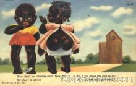 bla001408 - Series C-246 Black, Blacks Postcard Post Card