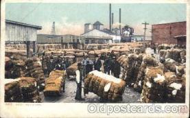 Weighing cotton