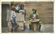 bla001428 - Aint Going to beno Rine Black, Blacks Postcard Post Card