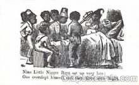 bla001433 - Black, Blacks Postcard Post Card