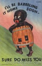 bla001447 - Series C-813 Black, Blacks Postcard Post Card