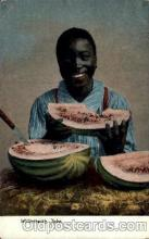 bla001481 - Watermelon Jake Black, Blacks Post Card Post Card