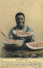 bla001482 - Watermelon Jake Black, Blacks Post Card Post Card